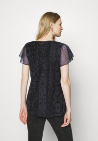 Desigual - NORTE - Print T-shirt - black - 2