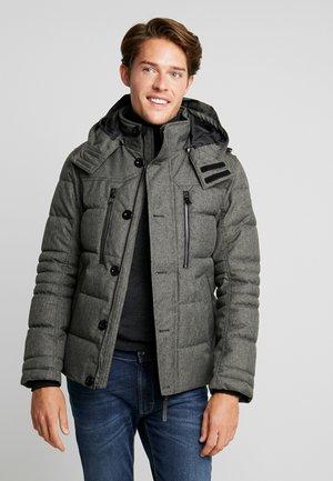 PUFFER JACKET - Winter jacket - grey structure