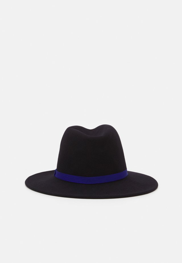 WOMEN HAT LINOCUT FEDORA - Hut - navy