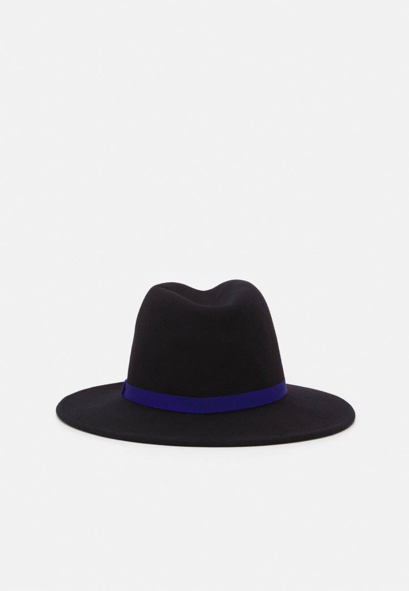 Paul Smith - WOMEN HAT LINOCUT FEDORA - Hat - navy