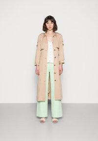 Résumé - ESTHI PANTS - Trousers - pastel green - 1
