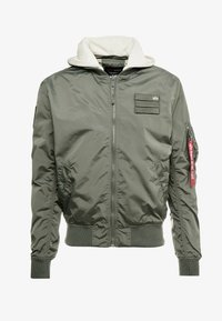 Alpha Industries - HOOD CUSTOM - Bomberjacks - vintage green - 8