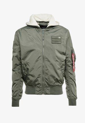 HOOD CUSTOM - Bomber Jacket - vintage green