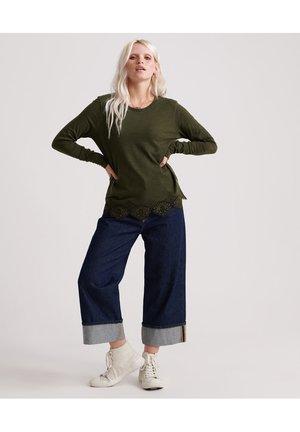 Maglietta a manica lunga - army khaki