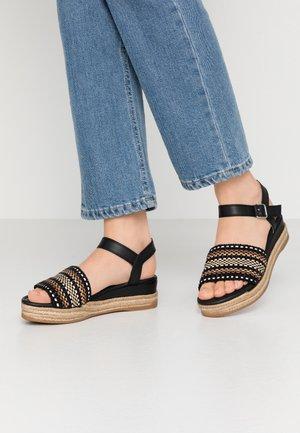GIRO - Platform sandals - black