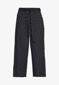 Kaffe - KADARIELLE CULOTTE PANTS - Trousers - black deep - 4