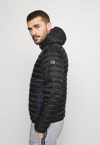 Champion - HOODED JACKET - Training jacket - black - 4