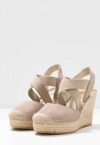 Vidorreta - Højhælede sandaletter / Højhælede sandaler - piedra - 4