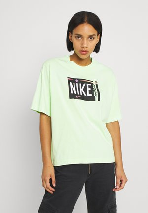 TEE WASH - T-shirts med print - ghost green