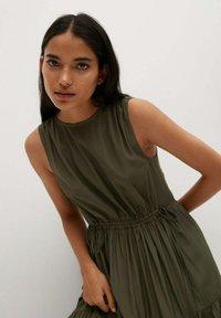 Mango - ABRIL - Maxi šaty - khaki - 3