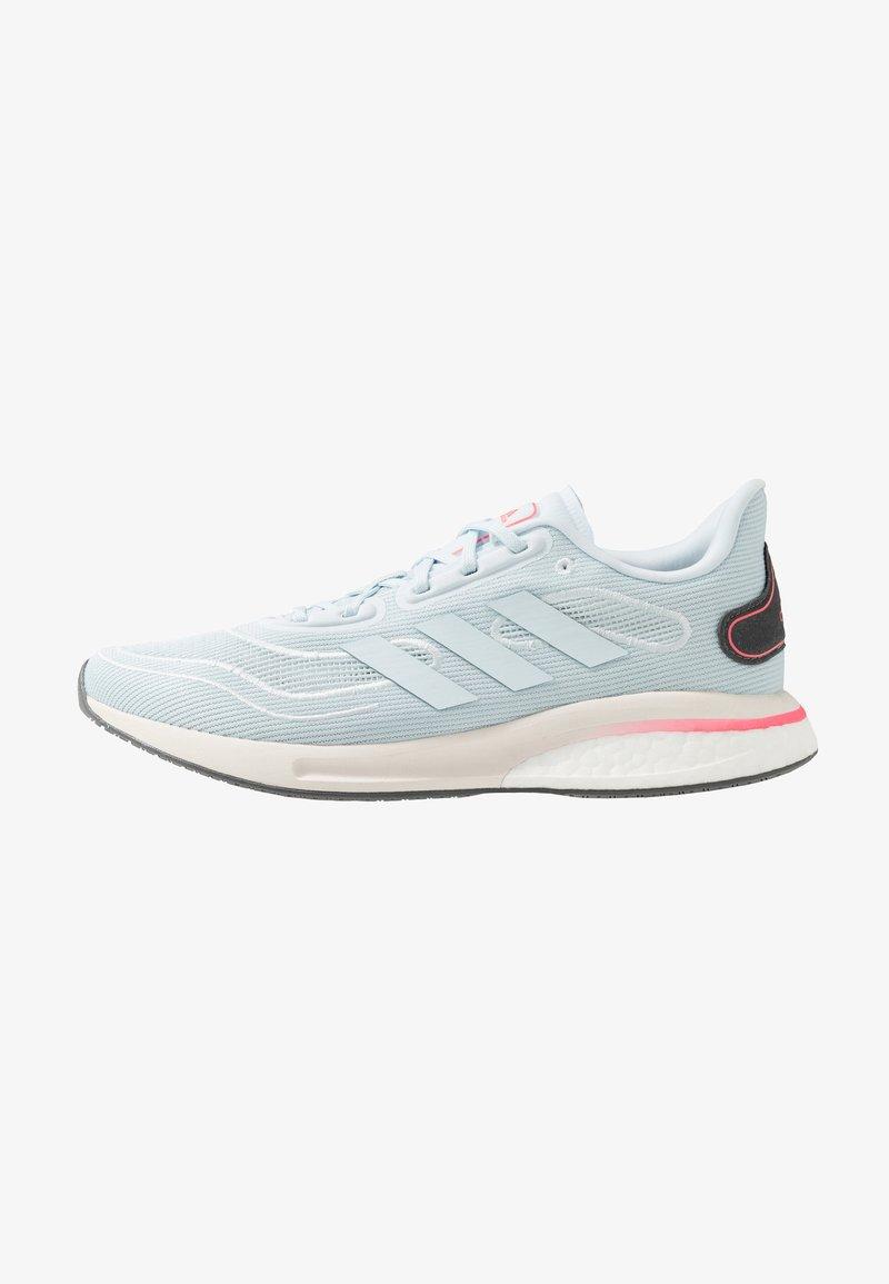 adidas Performance - SUPERNOVA - Nøytrale løpesko - sky tint/signal pink