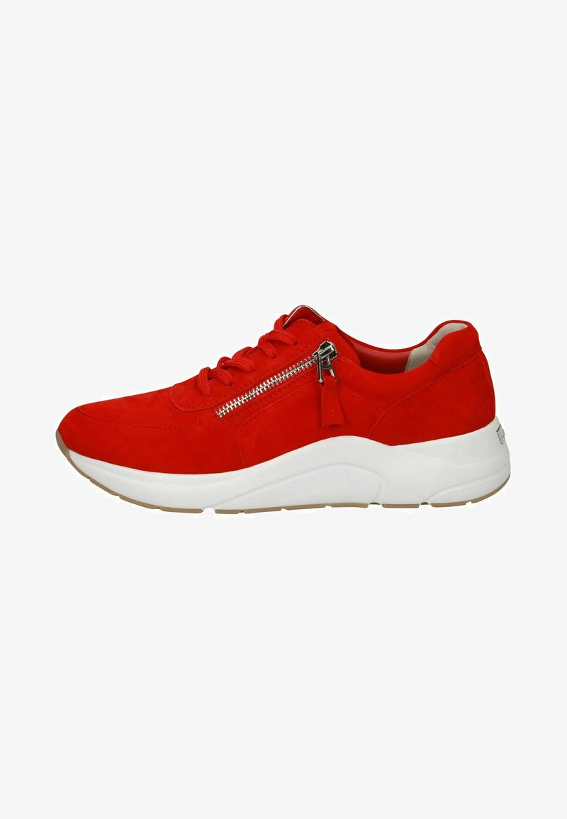 Caprice - Sneakers laag - red suede