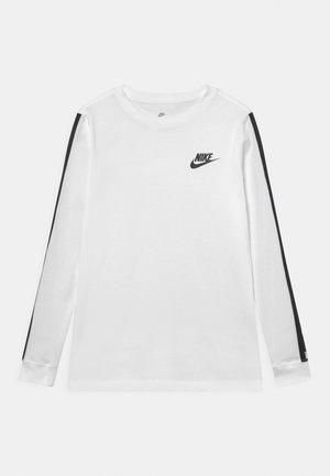 TEE TAPE UNISEX - Long sleeved top - white