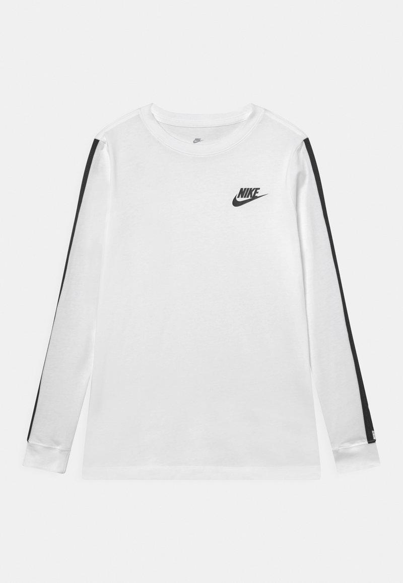 Nike Sportswear - TEE TAPE UNISEX - Camiseta de manga larga - white