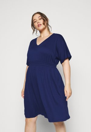VMRITA SMOCK DRESS - Vapaa-ajan mekko - blue depths
