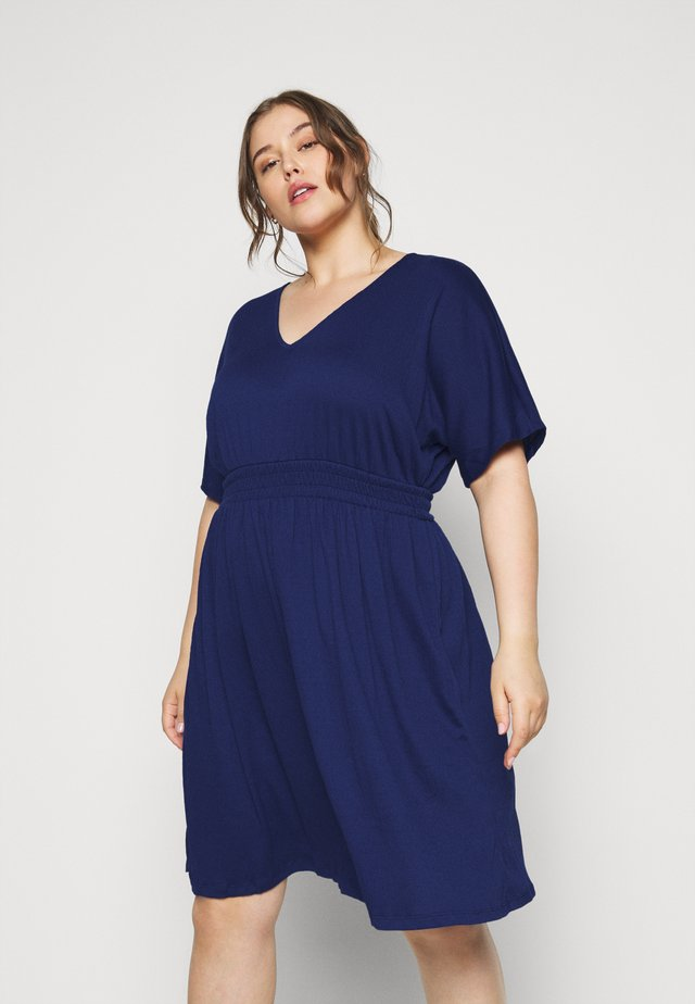 VMRITA SMOCK DRESS - Robe d'été - blue depths