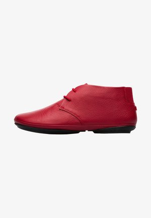 DAMEN - Casual lace-ups - red
