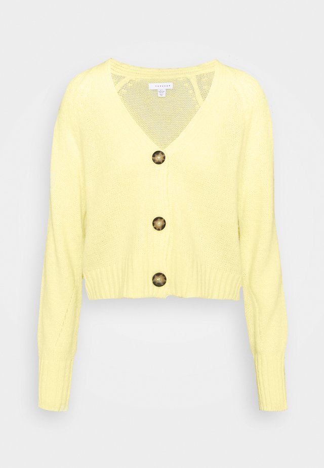 CROPPED  - Cardigan - lemon