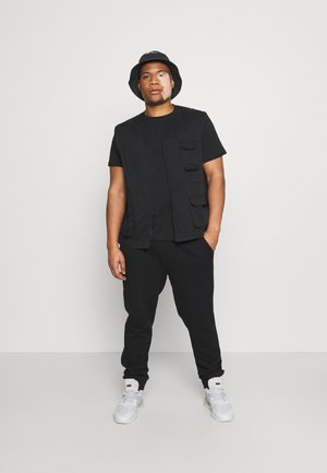 UNI 2 PACK - T-paita - black/black