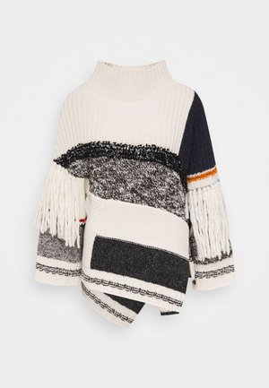 AGGRAVI - Strickpullover - weiss