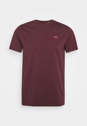 ORIGINAL TEE - T-shirts basic - bordeaux