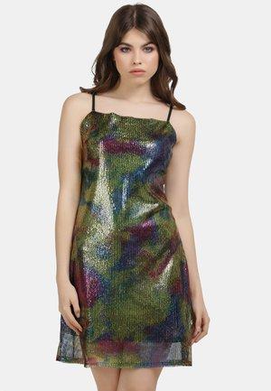 Cocktail dress / Party dress - rainbow