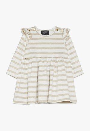 DRESS - Jersey dress - gold