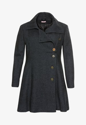 Short coat - schwarz-blau