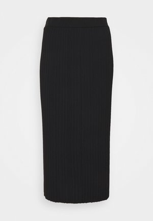 RARO - Pleated skirt - black