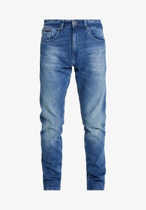 SLIM TAPERED STEVE BEMB - Jean slim - berry mid blue