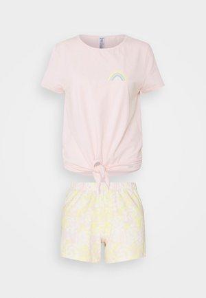 DAMEN KURZ FESTIVAL VIBE SLEEP - Pyžamo - mary rose