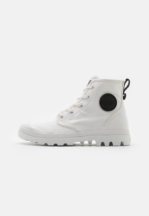 PAMPA HI - Lace-up ankle boots - star white