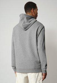 Napapijri - BIROL HOOD - Hoodie - medium grey melange - 1