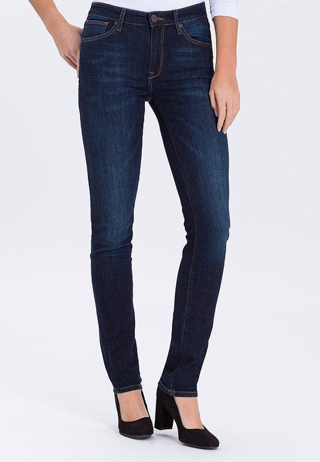 ANYA - Slim fit jeans - dark blue
