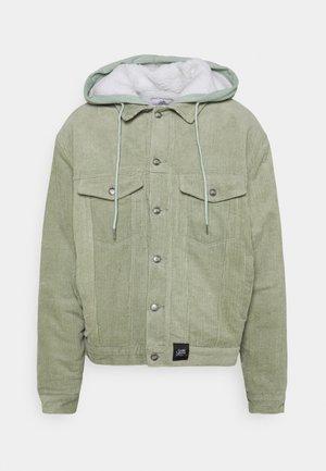 JACKET WITH HOOD - Light jacket - green