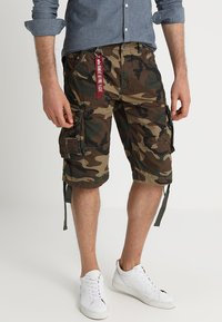 Alpha Industries - JET - Cargobroek - woodland - 0