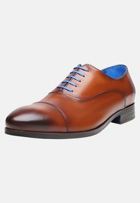 SHOEPASSION - NO. 5571 BL - Smart lace-ups - cognac - 2