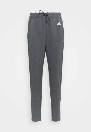 Tracksuit bottoms - grey/black