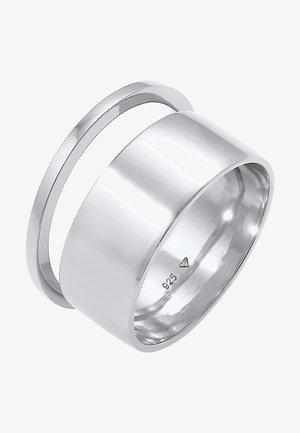 2 SET - Ring - silber