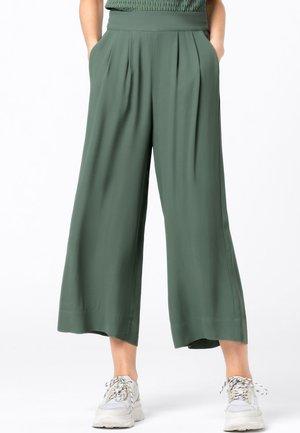 Trousers - seegrün