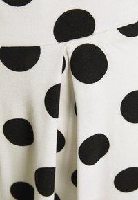Even&Odd - A-line skirt - off-white/black - 6