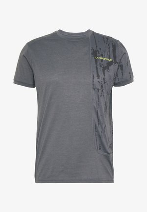 LEAD - Print T-shirt - carbon