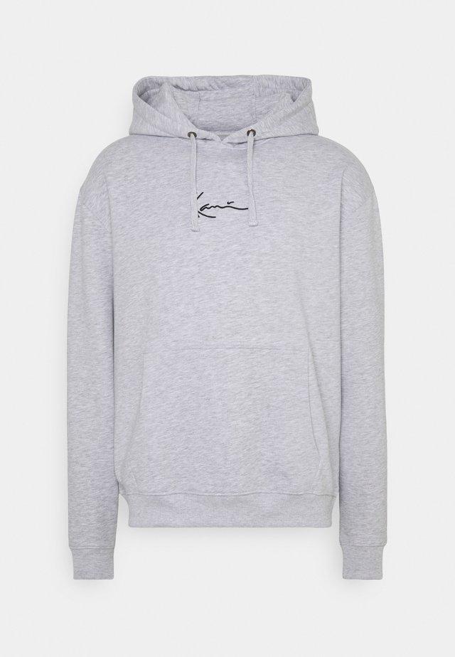 SMALL SIGNATURE HOODY UNISEX - Sweatshirt - ash grey