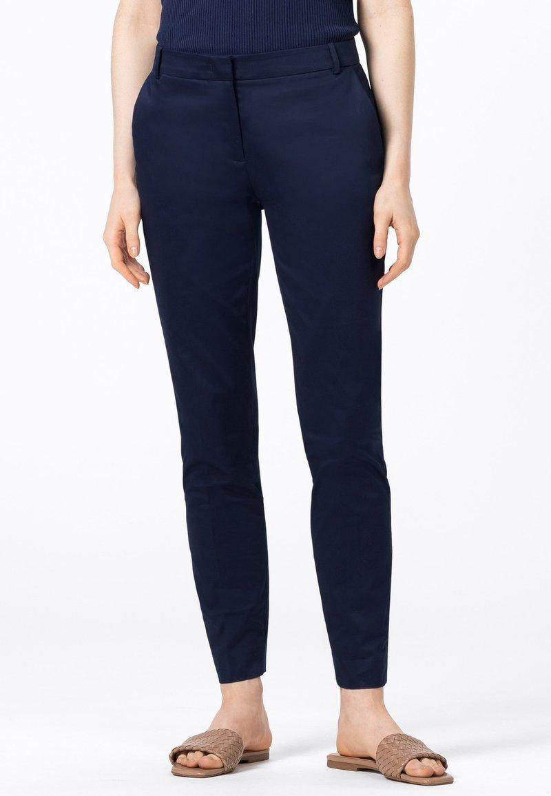 HALLHUBER - Trousers - tintenblau