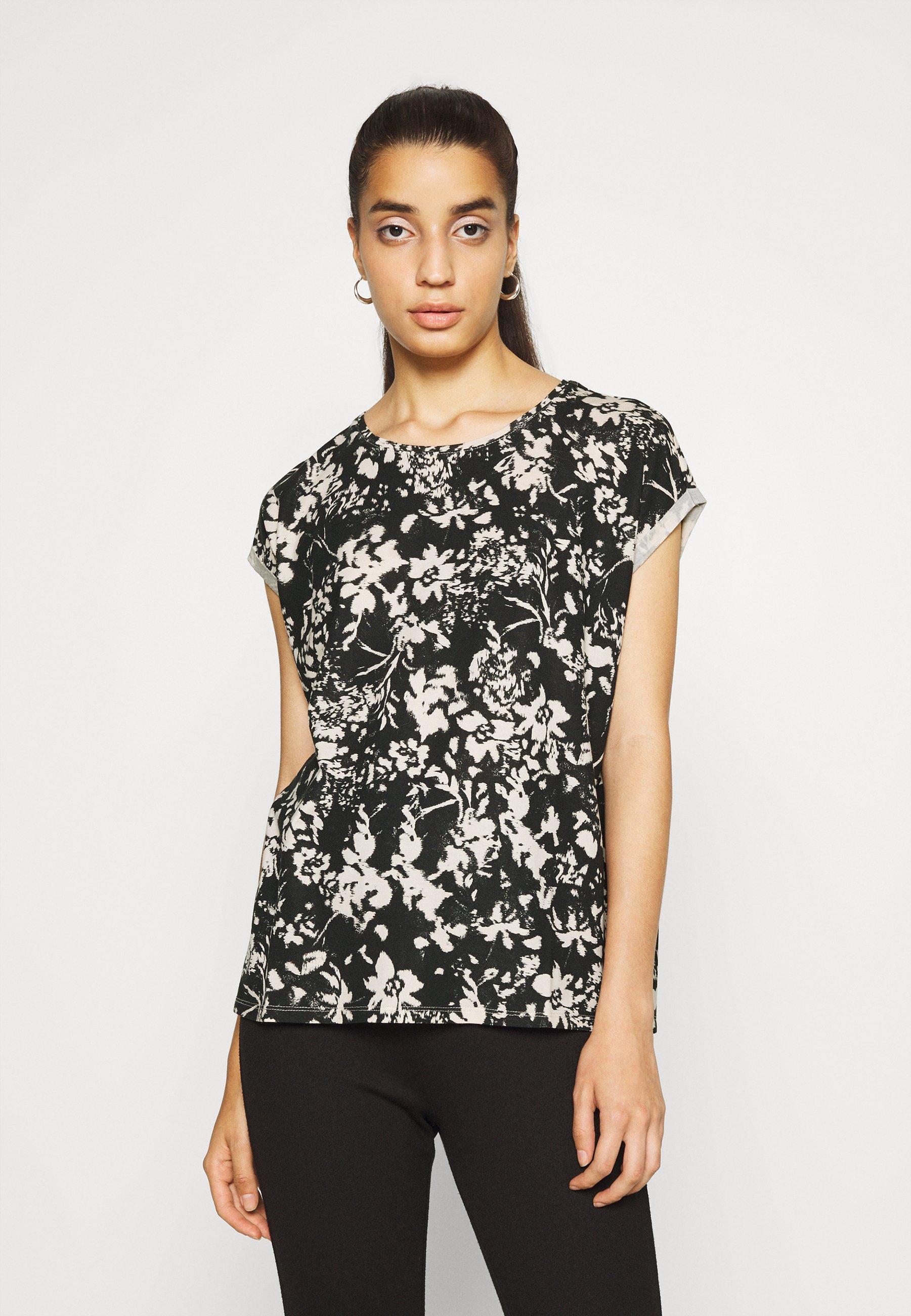Damen VMAVA PLAIN TOP  - T-Shirt print