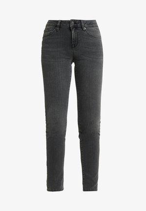SLFIDA SMOKE - Jeans Skinny Fit - black denim