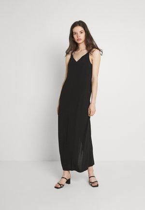 VMMOLLY STRAP ANKLE DRESS - Maxi dress - black