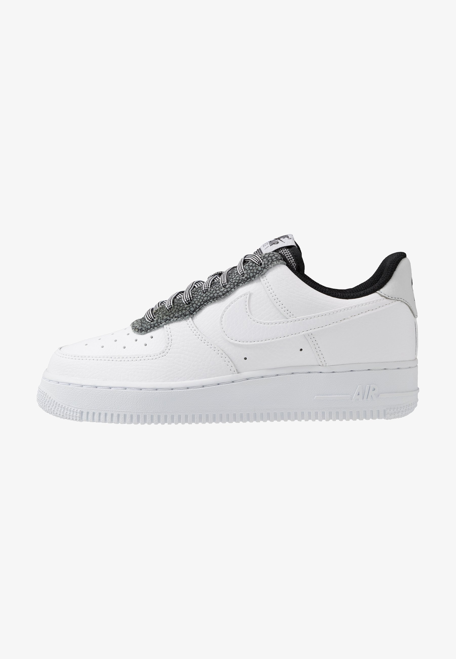 Nike Sportswear Air Force 1 07 Lv8 Sneakers Laag White Cool Grey Pure Platinum Black Wit Zalando Nl