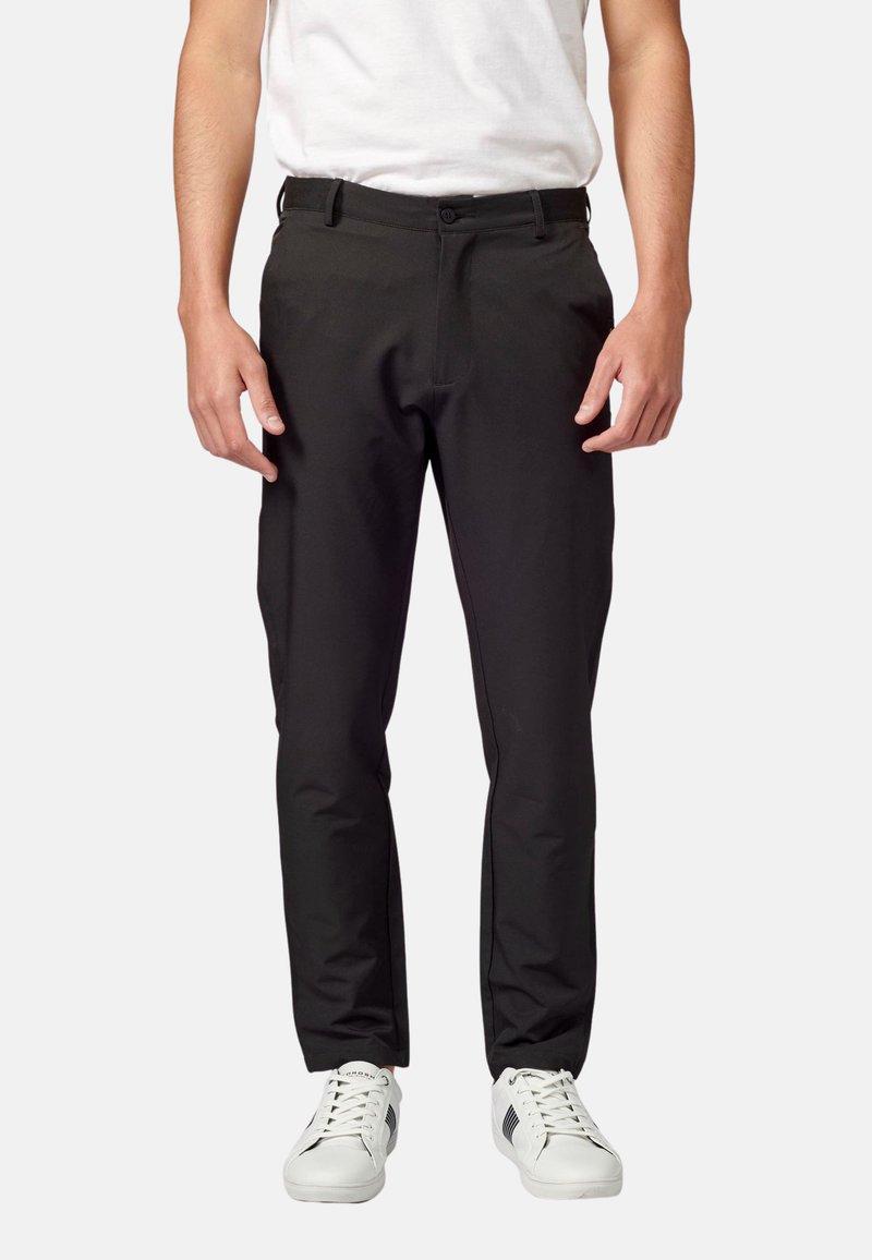 Koroshi - PANTALON LARGO - Pantalones chinos - black