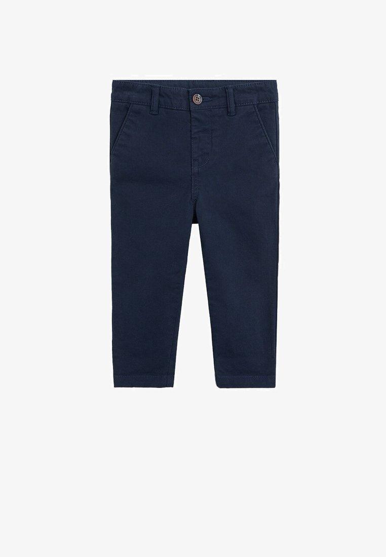 Mango - CHINO7 - Pantaloni - dunkles marineblau